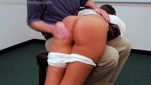 Real Spankings Institute - Ambriel: Punished By The Dean (part 1 Of 2) - image 7