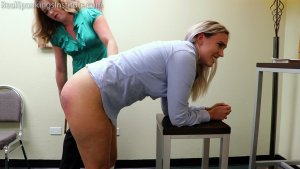 Real Spankings Institute - Cara's Bad Day (part 2 Of 2) - image 7