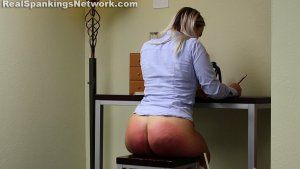 Real Spankings Institute - Cara's Bad Day (part 1 Of 2) - image 7