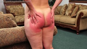 Real Spankings Institute - Maya's Tardiness Leads To Spankings (part 1 Of 2) - image 8