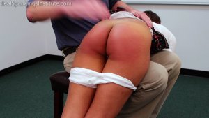 Real Spankings Institute - Ambriel: Punished By The Dean (part 1 Of 2) - image 3