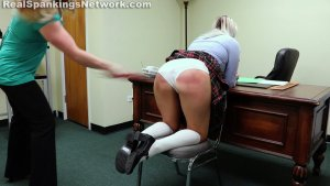 Real Spankings Institute - Cara's Bad Day (part 1 Of 2) - image 6