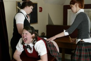 Real Spankings Institute - Lori Spanked By Kailee And Betty - image 8