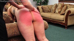 Real Spankings Institute - Maya's Tardiness Leads To Spankings (part 1 Of 2) - image 10