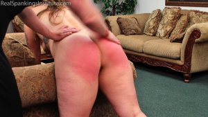 Real Spankings Institute - Maya's Tardiness Leads To Spankings (part 1 Of 2) - image 3