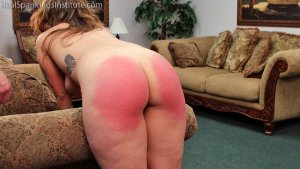 Real Spankings Institute - Maya's Tardiness Leads To Spankings (part 1 Of 2) - image 9