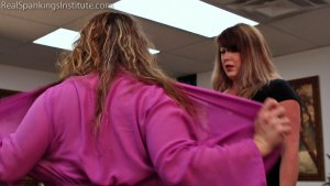 Real Spankings Institute - Maya's Tardiness Leads To Spankings (part 1 Of 2) - image 14