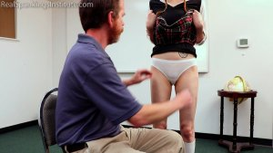 Real Spankings Institute - Schoolgirl Vignette (part 1) - image 1