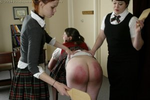 Real Spankings Institute - Lori Spanked By Kailee And Betty - image 12