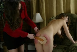 Real Spankings Institute - Michelle Spanked In The Library - image 9