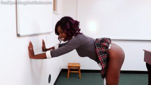 Real Spankings Institute - Nuna And Cleo Spanked For Disrupting Class (part 2 Of 2) - image 1
