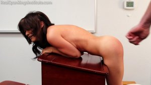 Real Spankings Institute - A Strapping After Her Handspanking - image 13