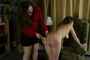 Real Spankings Institute - Michelle Spanked In The Library - image 10