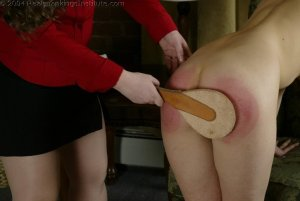 Real Spankings Institute - Michelle Spanked In The Library - image 16