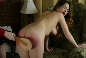 Real Spankings Institute - Michelle Spanked In The Library - image 15