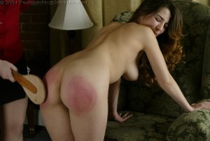 Real Spankings Institute - Michelle Spanked In The Library - image 3