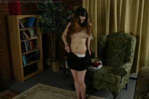 Real Spankings Institute - Michelle Spanked In The Library - image 11