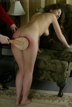 Real Spankings Institute - Michelle Spanked In The Library - image 12