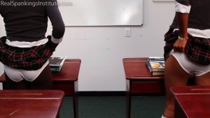 Real Spankings Institute - Nuna And Cleo Spanked For Disrupting Class (part 2 Of 2) - image 10