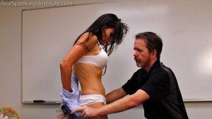 Real Spankings Institute - Delta: Paddled Naked Otk - image 1