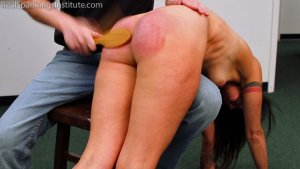 Real Spankings Institute - Delta: Paddled Naked Otk - image 4
