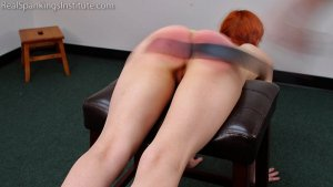Real Spankings Institute - Strapped For Laziness In Gym Class (part 2) - image 7