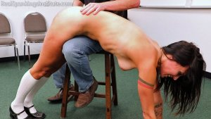 Real Spankings Institute - Delta: Paddled Naked Otk - image 9