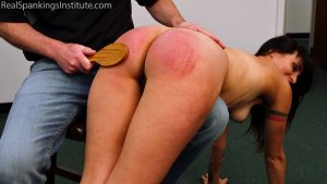 Real Spankings Institute - Delta: Paddled Naked Otk - image 12
