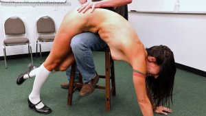 Real Spankings Institute - Delta: Paddled Naked Otk - image 8