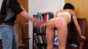 Real Spankings Institute - Delta: Caught In The Dean's Study - image 1
