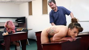Real Spankings Institute - Dakota: Punished In The Classroom (part 2) - image 3