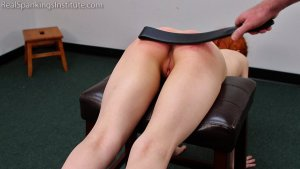 Real Spankings Institute - Strapped For Laziness In Gym Class (part 2) - image 12