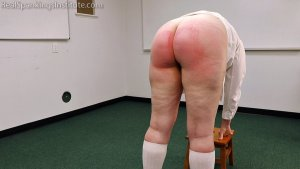 Real Spankings Institute - Alex Is Punished By The Dean (part 2) - image 15