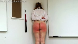 Real Spankings Institute - Alex: Punished By The Dean (part 1) - image 2