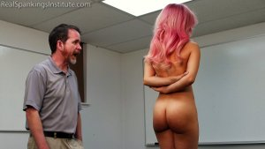 Real Spankings Institute - Kiki: Hard Session With The Tawse - image 10