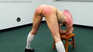 Real Spankings Institute - Kiki: Hard Session With The Tawse - image 4