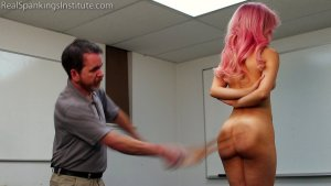 Real Spankings Institute - Kiki: Hard Session With The Tawse - image 12