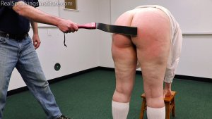 Real Spankings Institute - Alex Is Punished By The Dean (part 2) - image 1