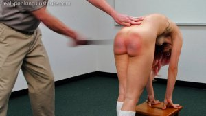 Real Spankings Institute - A Strapping With The Belt For Kiki - image 16