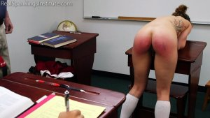 Real Spankings Institute - Dakota: Punished In The Classroom (part 2) - image 10