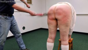 Real Spankings Institute - Alex Is Punished By The Dean (part 2) - image 11