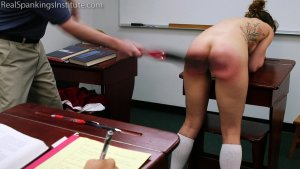 Real Spankings Institute - Dakota: Punished In The Classroom (part 2) - image 5