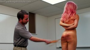 Real Spankings Institute - Kiki: Hard Session With The Tawse - image 15