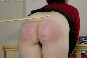 Real Spankings Institute - Chelsea Caned Hard For Attitude - image 10