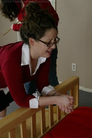 Real Spankings Institute - Chelsea Caned Hard For Attitude - image 8
