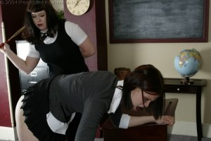 Real Spankings Institute - Kailee Caned By Betty - image 1