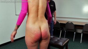 Real Spankings Institute - Delta's Dress Code Violation - image 2
