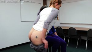 Real Spankings Institute - London Disrupts Gym Class, Again. (part 1 Of 2) - image 1