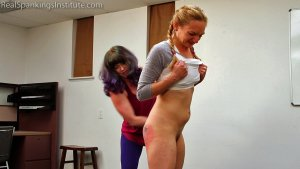Real Spankings Institute - London Disrupts Gym Class, Again. (part 2 Of 2) - image 1
