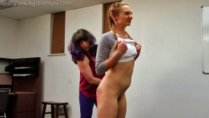 Real Spankings Institute - London Disrupts Gym Class, Again. (part 2 Of 2) - image 12